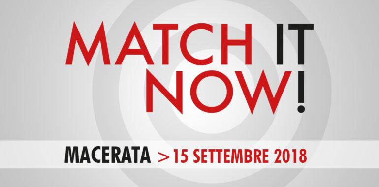 MATCH IT NOW – Macerata