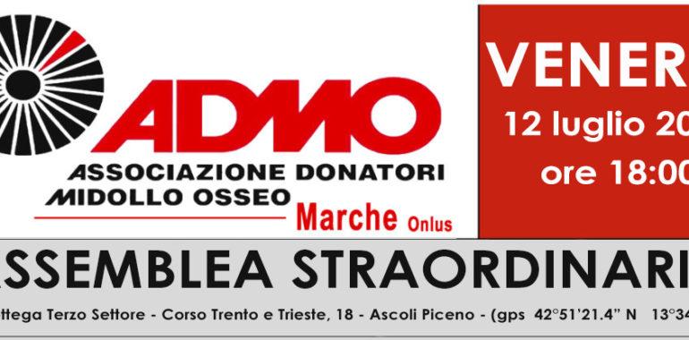ASSEMBLEA STRAORDINARIA DEI SOCI DI ADMO MARCHE