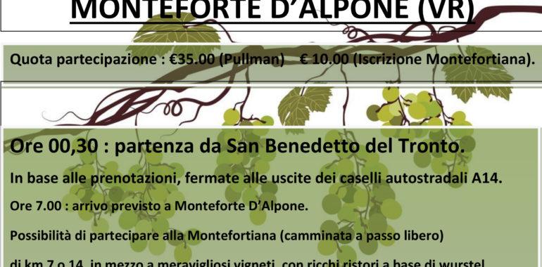 ADMO, Aido e Avis a Monteforte d'Alpone